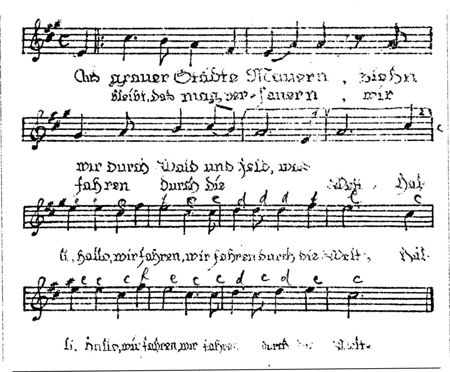 """Hymne der Jugendbewegung. Zu """"Aus grauer Städte Mauern"""" von Hans ..."""